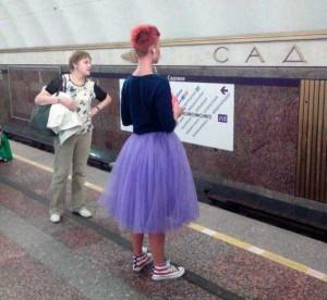 Subway Fashion: Russian Edition (36 photos) 34