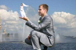 Catastrophically Bad Russian Wedding Photos (29 photos) 15