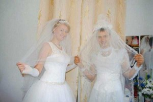 Catastrophically Bad Russian Wedding Photos (29 photos) 16