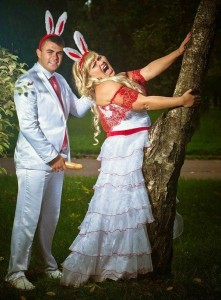 Catastrophically Bad Russian Wedding Photos (29 photos) 28