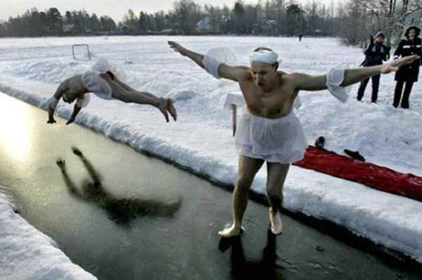 How Russians Are Dealing With Harsh Winter (44 photos) 32