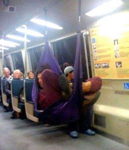 Strange Commuters You Don't Want to Meet on the Subway (30 photos) 13