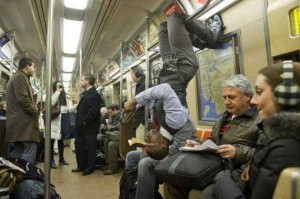 Strange Commuters You Don't Want to Meet on the Subway (30 photos) 18