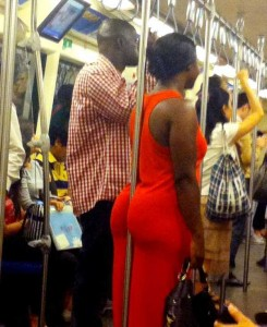 Strange Commuters You Don't Want to Meet on the Subway (30 photos) 2