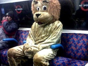 Strange Commuters You Don't Want to Meet on the Subway (30 photos) 30