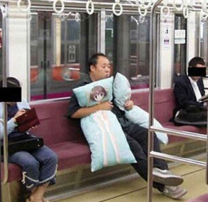 Strange Commuters You Don't Want to Meet on the Subway (30 photos) 5