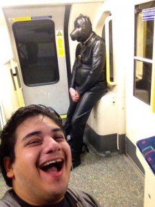 Strange Commuters You Don't Want to Meet on the Subway (30 photos) 6