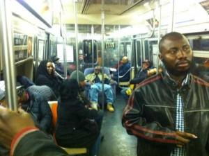 Strange Commuters You Don't Want to Meet on the Subway (30 photos) 7