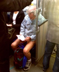 Strange Commuters You Don't Want to Meet on the Subway (30 photos) 8