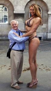 Babezilla is the World's Tallest Female Fashion Model (27 photos) 12
