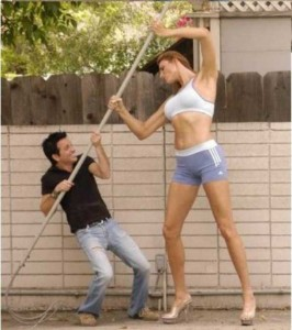 Babezilla is the World's Tallest Female Fashion Model (27 photos) 27