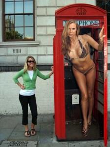 Babezilla is the World's Tallest Female Fashion Model (27 photos) 9