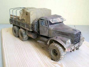 Unimaginably Realistic Military Truck Paper Model (4 photos) 4