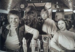 Rare and Valuable Photos from the Star Wars Sets (100 photos) 45
