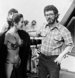 Rare and Valuable Photos from the Star Wars Sets (100 photos) 50