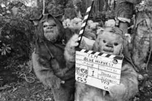 Rare and Valuable Photos from the Star Wars Sets (100 photos) 60