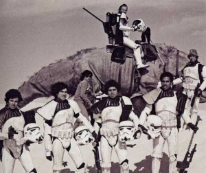 Rare and Valuable Photos from the Star Wars Sets (100 photos) 83