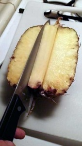 How to Properly Cut Up a Pineapple (10 photos) 4