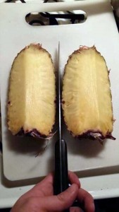 How to Properly Cut Up a Pineapple (10 photos) 6