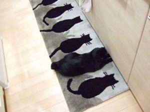 Well-Camouflaged Cats (35 photos) 25