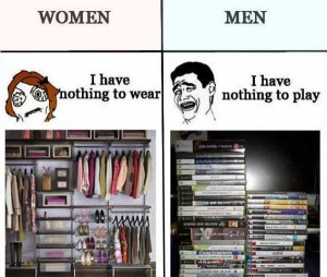 21 Obvious Differences Between Men and Women (21 photos) 20