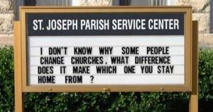 60 Creatively Funny Church Signs (60 photos) 13