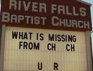 60 Creatively Funny Church Signs (60 photos) 35
