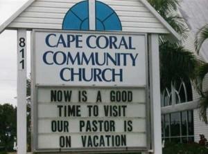 60 Creatively Funny Church Signs (60 photos) 53