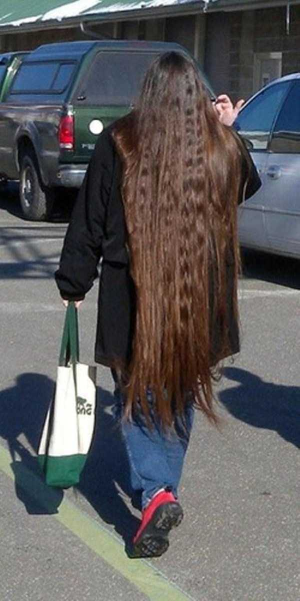 People With Ridiculously Long Hair | KLYKER.COM