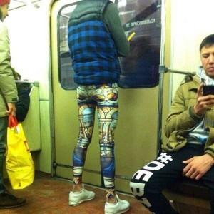 Subway Fashion: Russian Edition - Part 2 (42 photos) 1