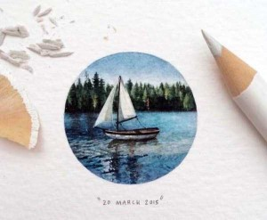 You Will Be Impressed With These Tiny Drawings (14 photos) 1