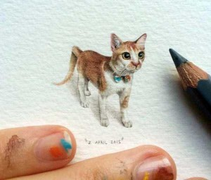 You Will Be Impressed With These Tiny Drawings (14 photos) 10
