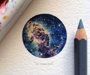 You Will Be Impressed With These Tiny Drawings (14 photos) 12