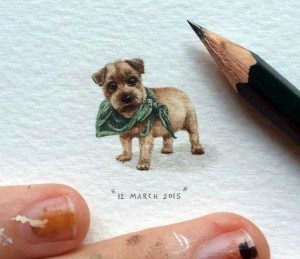 You Will Be Impressed With These Tiny Drawings (14 photos) 4