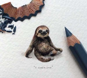 You Will Be Impressed With These Tiny Drawings (14 photos) 6