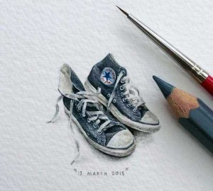 You Will Be Impressed With These Tiny Drawings (14 photos) 7