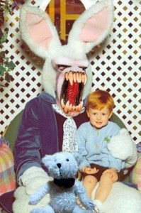 Creepy Easter Bunnies That Came Straight From Hell (40 photos) 36