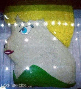 Disney-Inspired Cakes Gone Wrong (21 photos) 1
