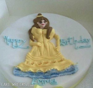 Disney-Inspired Cakes Gone Wrong (21 photos) 4