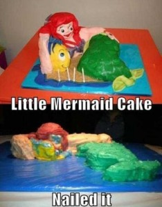 Disney-Inspired Cakes Gone Wrong (21 photos) 6