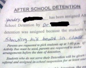Hilariously Ridiculous Reasons to Get Detention (34 photos) 14