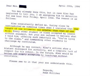 Hilariously Ridiculous Reasons to Get Detention (34 photos) 18