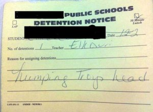 Hilariously Ridiculous Reasons to Get Detention (34 photos) 19
