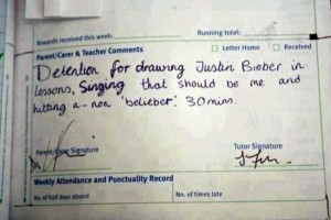 Hilariously Ridiculous Reasons to Get Detention (34 photos) 2