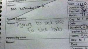 Hilariously Ridiculous Reasons to Get Detention (34 photos) 23