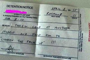 Hilariously Ridiculous Reasons to Get Detention (34 photos) 24
