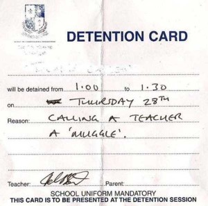 Hilariously Ridiculous Reasons to Get Detention (34 photos) 27