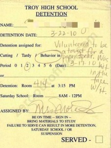Hilariously Ridiculous Reasons to Get Detention (34 photos) 28