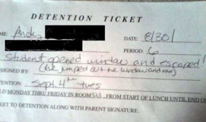 Hilariously Ridiculous Reasons to Get Detention (34 photos) 29