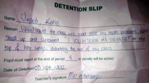 Hilariously Ridiculous Reasons to Get Detention (34 photos) 3
